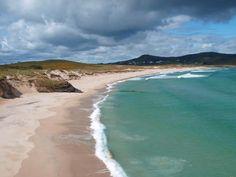 Playa de Santa Comba, Playa. Turismo en Ferrol ( A Coruña ). Disfruta de Galicia.