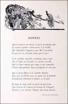 Henri de Régnier - S