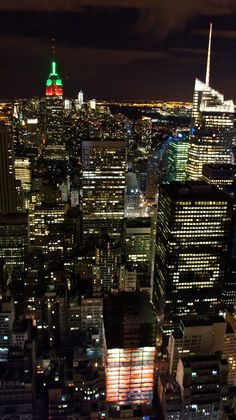 Manhattan by Night (top of the rock)