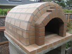The Elgin Family Wood-Fired DIY Brick Pizza Oven in California by BrickWood Ovens