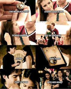 TVD - Love triangle