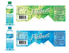 Philbest Pure Water Bottle Label Design on Behance Drink Labels, Jar Labels, Water Bottle Design, Water Bottle Labels, Label Design, Packaging Design, Natural Mineral Water, Bottle Packaging, Coffee Packaging