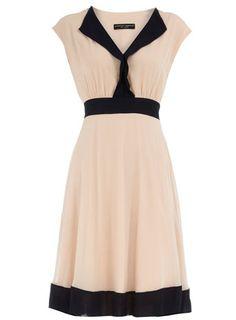 Colour block circle dress (Dorothy Perkins).