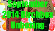 The Life of Annelise: September 2014 Birchbox Unboxing