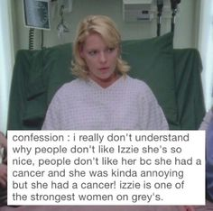 Greys Anatomy Facts, Why People, Dont Understand, Grey's Anatomy, Strong Women, Confessions, Cancer, Greys Anatomy, Warrior Women