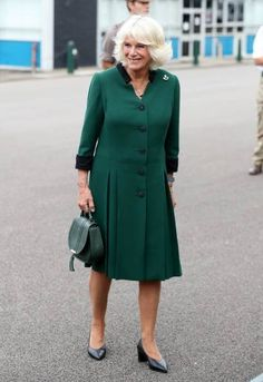 The Duchess of Cornwall visited the 1st Battalion in Chepstow