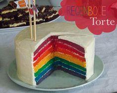 Regenbogen-Torte ★ Rainbow Cake