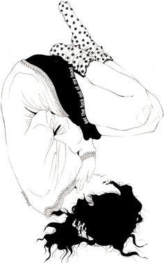 i / kaethe butcher #Art #Doodle