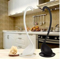 Swan Soup Ladle Loch Creative Special Design Spoon Kitchen Tools Black/White new | Home & Garden, Kitchen, Dining & Bar, Kitchen Tools & Gadgets | eBay!