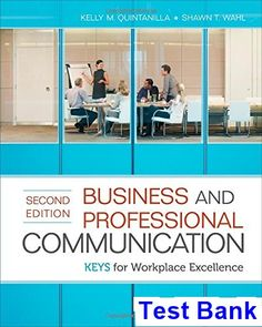 Download ebook pdf free httpaazeabookprinciples of test bank for business and professional communication keys for workplace excellence 2nd edition by quintanilla fandeluxe Images