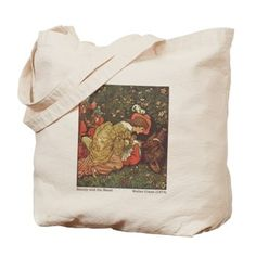 Crane's Beauty and the Beast Tote Bag