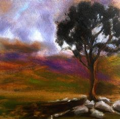 www.johnogradypaintings.com  Irish landscape  Irish Landscape painting  Irish Art