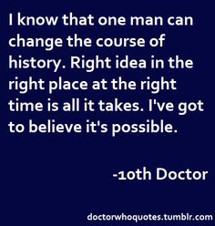 Doctor Who Quotes More