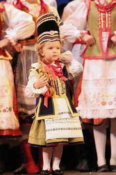 Folk costume  from Kurpie Zielone, north-eastern Poland
