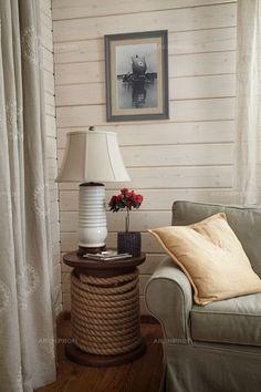 Объект: дом в завидово, автор: Гуля Ахметшина. Брусовый деревянный дом