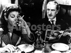 Monsieur Verdoux, Martha Raye, Charlie Chaplin, 1947 Movies Photo - 61 x 46 cm