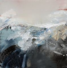 Spring Swell I by Juliette Paull Abstract Landscape, Landscape Paintings, Abstract Art, Landscapes, Stormy Sea, Contemporary, Modern, Truths, Black And White