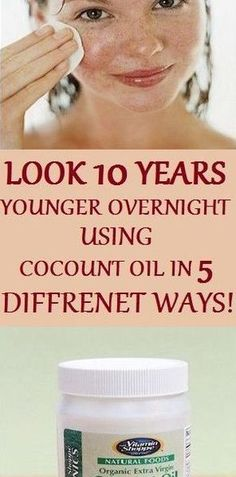 To Look 10 Years Younger with the Use of Coconut Oil And Baking Soda