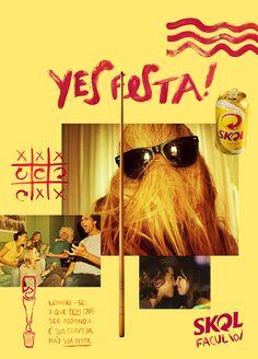 promotional material for Skol beer