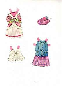 THE GINGHAMS PAPER DOLLS – WINTER « Marges8
