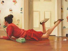 Storyteller- Art Print From Original Oil Painting / Janet Hill Studio Janet Hill, Posters Vintage, Good Fellows, Title Card, Portrait Art, Portraits, Art Studios, Fine Art Paper, Storytelling
