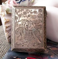 Antique Austrian Extremely Finely DETAILED Compact
