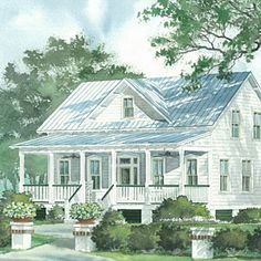 Merveilleux House Plan Transformations: See It Built! | Potteru0027s HousePlan #1484 |  SouthernLiving.