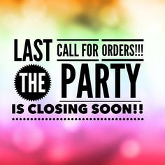 last call for orders - Google Search
