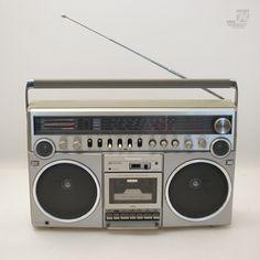 cyan74.com vintage & pop culture | PANASONIC RX 5500-LS Ghettoblaster