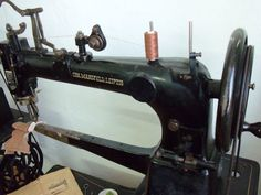 CHN.MANSFELD 8 Sattler Schuster Leder Nähmaschine wie Dürkopp   eBay