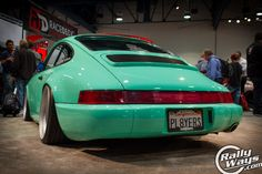 Rotiform Porsche 911 964 - SEMA Show Throwback! #rallyways #porsche911 #rotiform