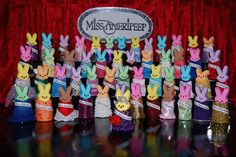 Miss Ameripeep, Pioneer Press Peeps Diorama Contest 2013 Marshmallow Bunny, Peep Show, Happy Easter, Fancy, Twin Cities, Marshmallows, Crafts, Brittany, Minnesota