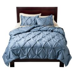 Target Home™ Pinched Pleat Comforter Set - Blue