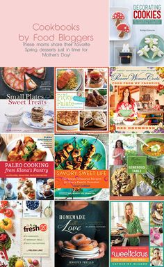 10 bloggers' cookbooks for Mother's Day ♥