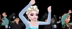 Quand les personnages de #Frozen dansent sur #Thriller