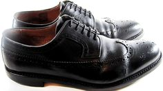 Baxley Men Wingtip Shoes Size 11.5 Black.   #BaxleyGoodyear #WingTip