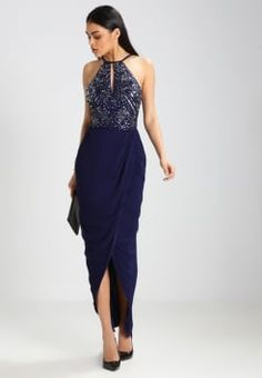 Lace & Beads - BASIA - Cocktailjurk - midnight blue