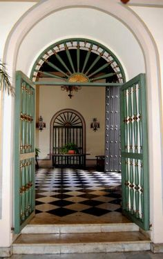 Foyer at El Convento ~ Old San Juan, Puerto Rico