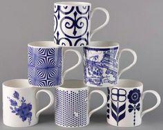 fun set of coffee mugs