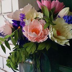 Flora Nordica (@_flora__nordica_) • Фотографије и видео записи на услузи Instagram Crepe Paper Flowers, Floral Wreath, Bouquet, Wreaths, Happy, Plants, Beautiful, Instagram, Decor