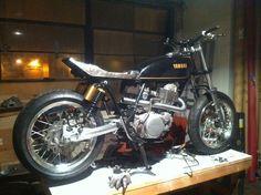 Cb750 Cafe Racer, Sr500, Yamaha, Motorcycles, Bike, Motorbikes, Bicycle, Bicycles, Motorcycle