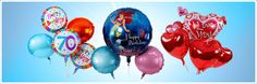 Schwebenden Folienballon-Gruß, lustig oder romantisch Poster, Madness, Levitate, Funny, Billboard