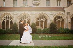 University of Chicago; Hyde Park // Chicago wedding venue // © gntphoto.com