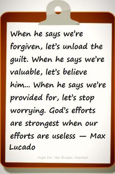 Max Lucado quote #encouragement #inspiration #love
