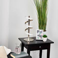 Spiralna lampa stołowa LED Pierre 9985030