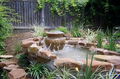 unusual water feature   Evans Weaver of MEDITERRANIA IRON builds amazing water features and ...