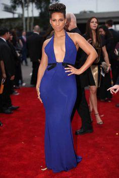 Alicia Keys | Fashion On The 2014 Grammy Awards Red Carpet