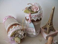 Caixinha vintage reciclagem rolinho de papel higiênico ♥ - YouTube