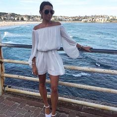 @rozalia_russian wears the @shonajoy2026 Cumulus Off Shoulder Mini Dress this is the second order of these dresses are amazing! Perfect fog this weather  Get 15% off when you sign up online at Lookbook  #shonajoy #lookbookboutique #lookbook #newarrivals #ootd #ootn #online #outfit #ontrend #trending #offshoulder #fashion #blogger #bloggers #bloggerstyle #fashionblog #fashionpost