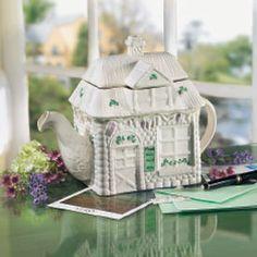 ♧ belleek teapot